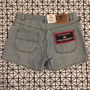 NWT Ralph Lauren Polo Jeans Co. Shorts Size 2